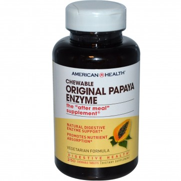 Original papaya enzyme 250 chewable