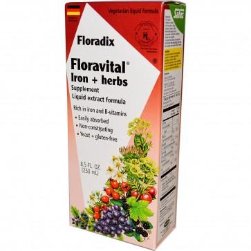 Floradix Floravital Iron and Herbs Liquid 8.5 fl oz