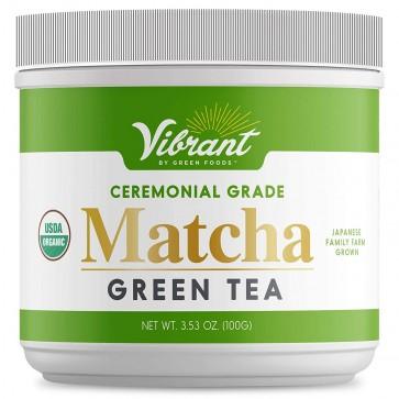 Green Foods Vibrant Matcha Green Tea