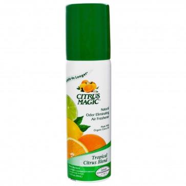 Citrus Magic 100% Natural Odor Eliminating Air Freshener Tropical Cit 1.5 oz