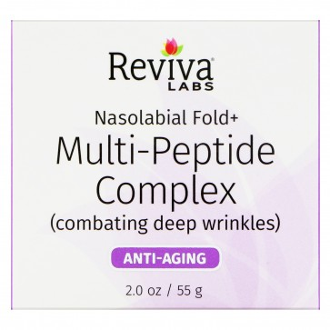 Reviva Labs Nasolabial Fold Multi-Peptide Cream 2 oz