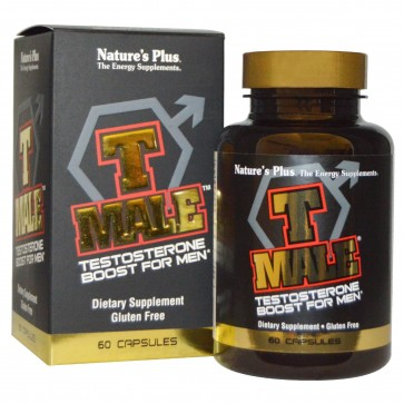 Natures Plus T Male Testosterone Boost for Men 60 Capsules