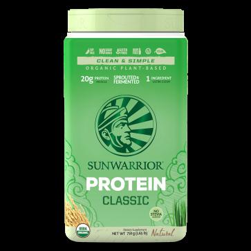 SunWarrior Organic Protein Classic Natural 30 Servings