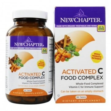 Activated C Food Complex 180 Tablets