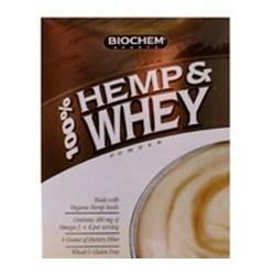 100% Hemp and Whey Protein - Vanilla Flavor | 100% Hemp and Whey