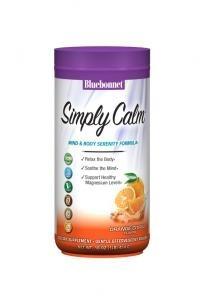 Bluebonnet Simply Calm Orange Citrus