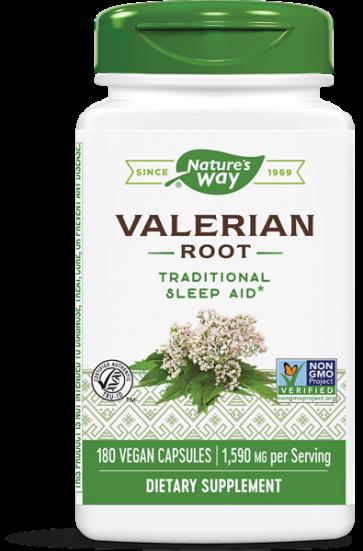 Nature's Way Valerian Root 1,590 mg 180 Capsules