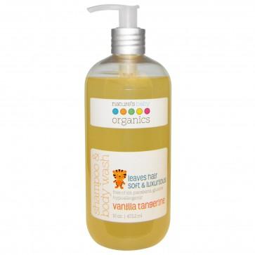 Nature's Baby Shampoo & Body Wash Vanilla Tangerine 16 fl oz