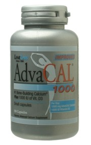AdvaCal 1000 150 Capsules by Lane LabsThe #1 Bone Building Formula