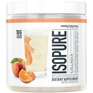Isopure Collagen Summer Citrus Peach