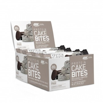 Optimum Nutrition Protein Cake Bites Cookies and Creme | Protein Cake Bites Cookies and Creme
