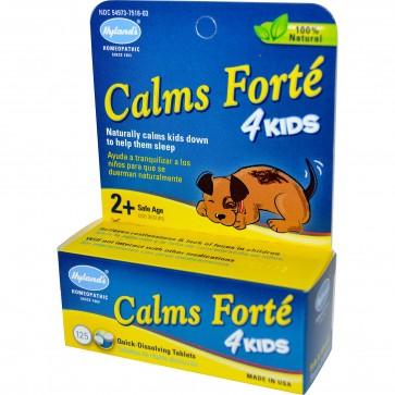 Hylands Calms Forte 4 Kids 125 Tabs