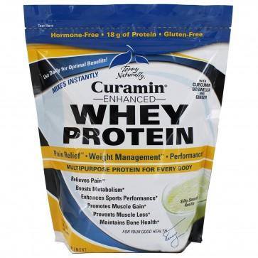 Terry Naturally Curamin Enhanced Whey Protein Silky Smooth Vanilla 24 oz (680 Grams)