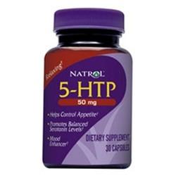 Natrol 5-HTP 50 mg 30 Capsules