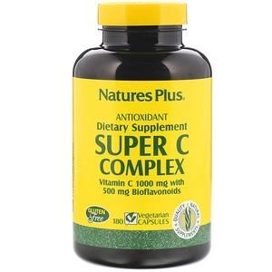 Natures Plus Super C Complex 180 Capsules