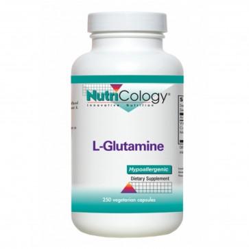 Nutricology L-Glutamine 800 Mg 250 Vegetarian Capsules