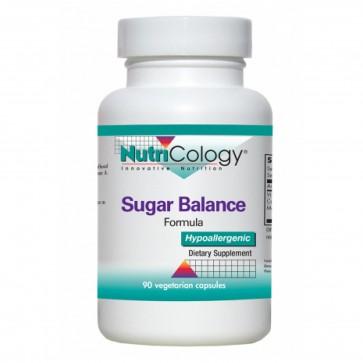 NutriCology Sugar Balance Formula 90 Vegetarian Capsules