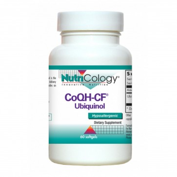 Nutricology CoQH-CF Ubiquinol 60 Softgels