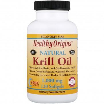 Healthy Origins Krill Oil 1,000 mg 120 Softgels