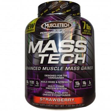Muscletech Mass Tech Strawberry  7 lbs