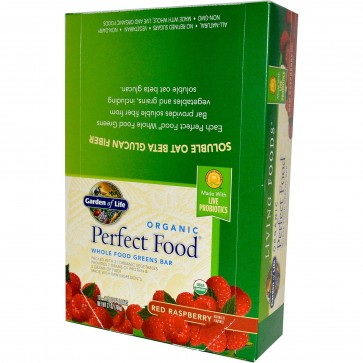 Garden Of Life Perfect food Red Raspberry 12 Bars