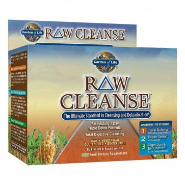 Garden of life raw cleanse 3 step kit for Garden of life raw cleanse reviews