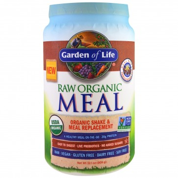 Garden of Life Raw Organic Meal Vanilla Spiced Chai 2lb