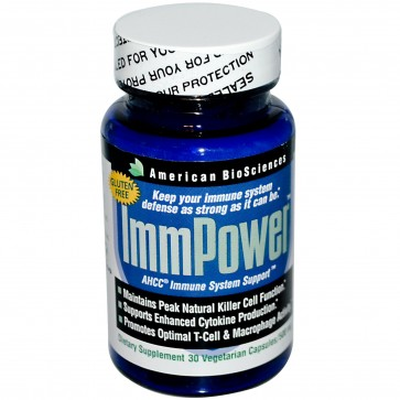 American Biosciences ImmPower AHCC 500 mg 30 cp