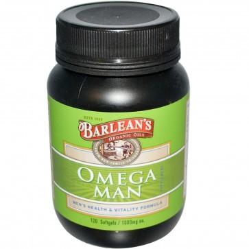 Barlean's Omega Man 120 Softgels