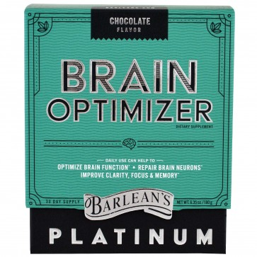 Barlean's Brain Optimizer Chocolate 6.35oz
