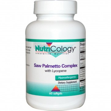 NutriCology Saw Palmetto Complex 60 Softgels