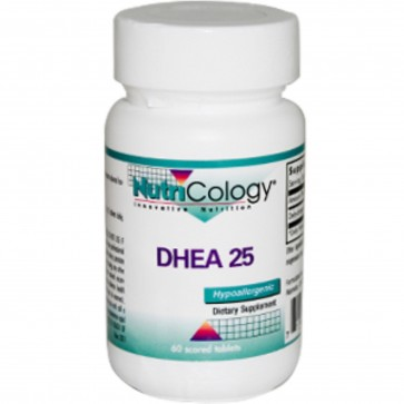 NutriCology DHEA 25 mg 60 Scored Tablets