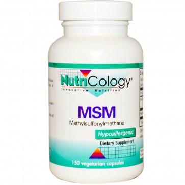 NutriCology MSM 500 mg 150 Vegetarian Capsules