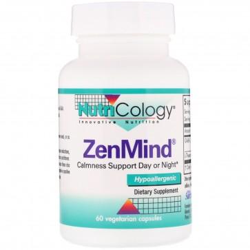 Nutricology- ZenMind- 60 Vegetarian Capsules