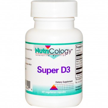 Nutricology Super D3 60 Vegetarian Capsules