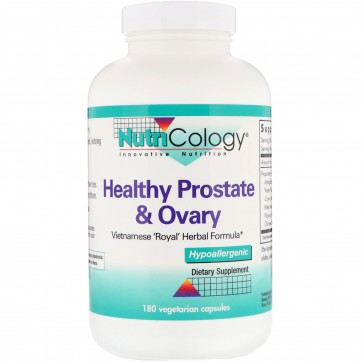 Nutricology Healthy Prostate and Ovary 180 Veggie Caps