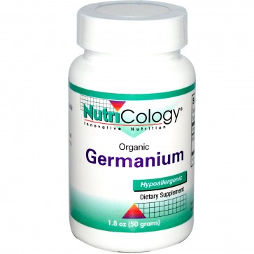 Nutricology Organo-Germanium Ge-132 Powder 50 grams (1.8 oz.)