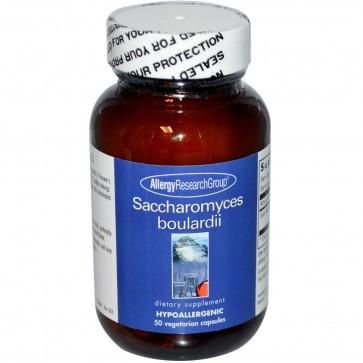 Allergy Research Saccharomyces boulardii 50 Capsules