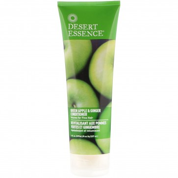 Desert Essence Conditioner Green Apple and Ginger 8 Ounces 8 fl oz