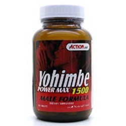 Action Labs Yohimbe Power Max 2000 100 Capsules
