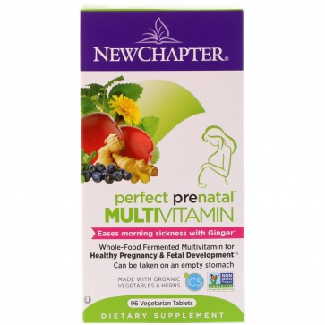 New Chapter Perfect Prenatal Multivitamin 96 Tablets