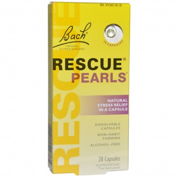 Bach Rescue Pearls 28 Capsules