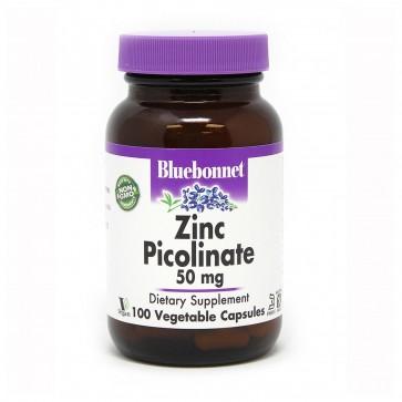 Bluebonnet Zinc Picolinate 50mg 100 Capsules
