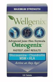 Osteogenix Advanced Joint Flex Formula 120 Tablets by Wellgenix