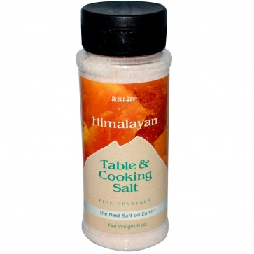 Aloha Bay Himalayan Table & Cooking Salt - 6 oz jar