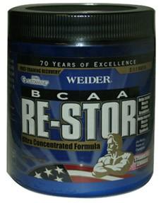 Weider BCAA Re-Stor Strawberry Lemonade 330 grams