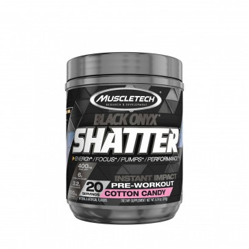 Shatter Black Onyx Cotton Candy
