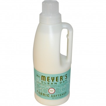 Mrs. Meyers Clean Day, Fabric Softener, Basil Scent, 32 fl oz (946 ml)