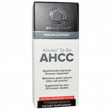 Quality of Life Kinoko To Go AHCC Powder Packets