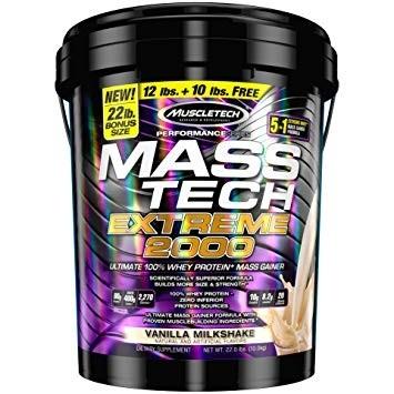 Muscletech Mass Tech Vanilla Milkshake